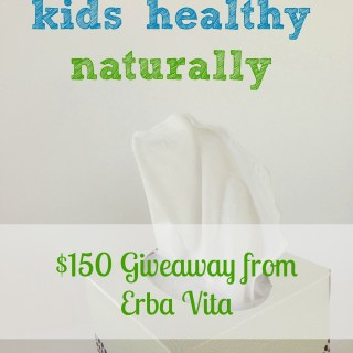 Keep Kids Healthy Naturally with Erba Vita – Giveaway