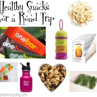 healthy snacks for a road trip