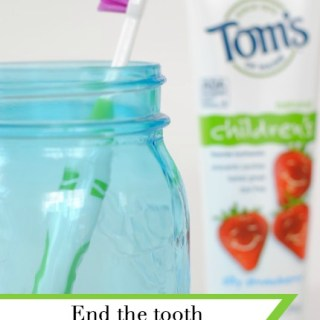 Avoid the toothbrushing battle with the kids