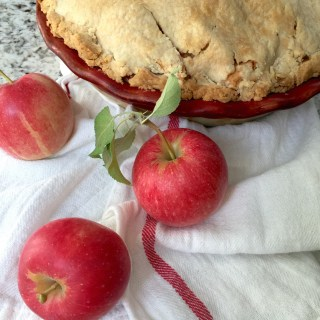 Fall apple pie menu plan
