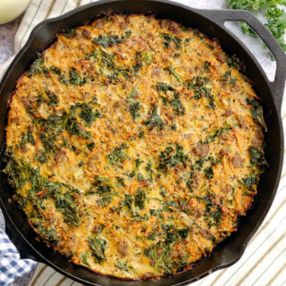 Spring Paleo meal plan breakfast sweet potato quiche