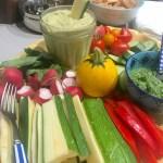 zucchini hummus summer recipe
