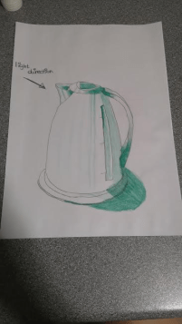 My drawing of a kettle