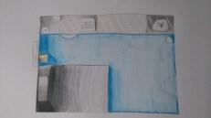 Coloured pencil rendering