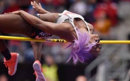 priscilla Frederick high jump performance