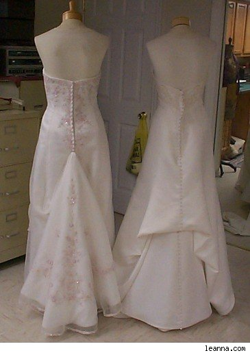 wedding dress  Emily Schiesl Events