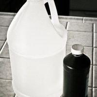 Natural Cleaning - Vinegar and Hydrogen Peroxide
