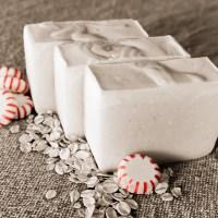 Peppermint Oatmeal Soap Recipe