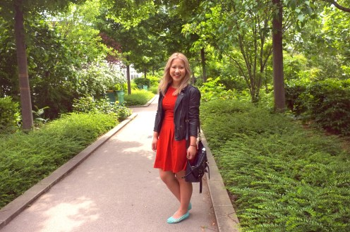 Me at La Promenade Plantée
