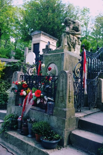 Chopin's resting place