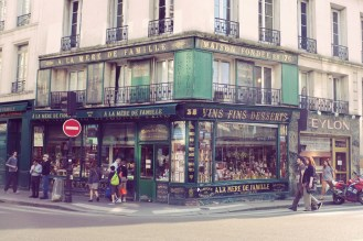 Shops are much fancier in France.