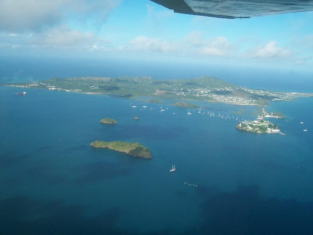 Mayotte vue du ciel  Caribou Coconi