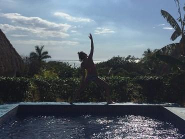 pool pose