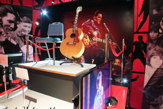 Elvis at the O2 exhibition: 68 comeback special