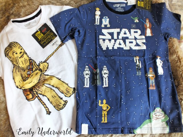 Star Wars graphic t-shirts