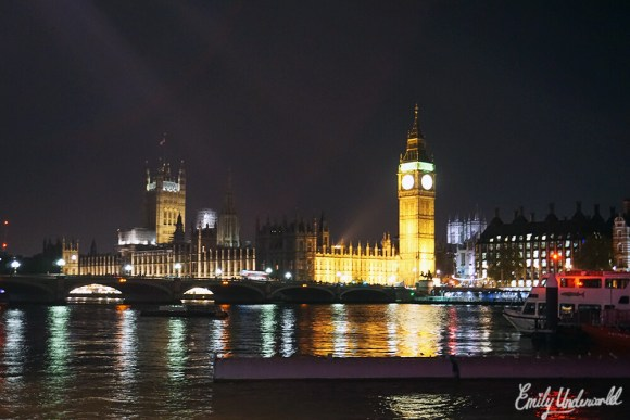 Night Time Stroll in London