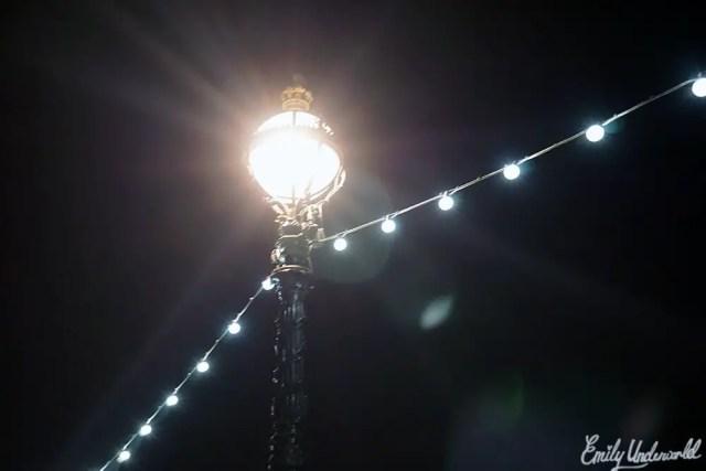 London lights at Night