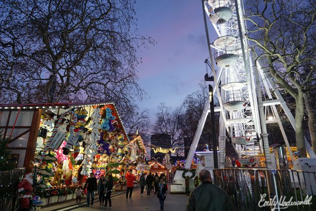 Leicester Square at Christmas