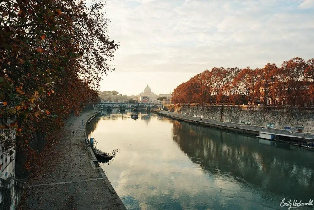 River in Rome