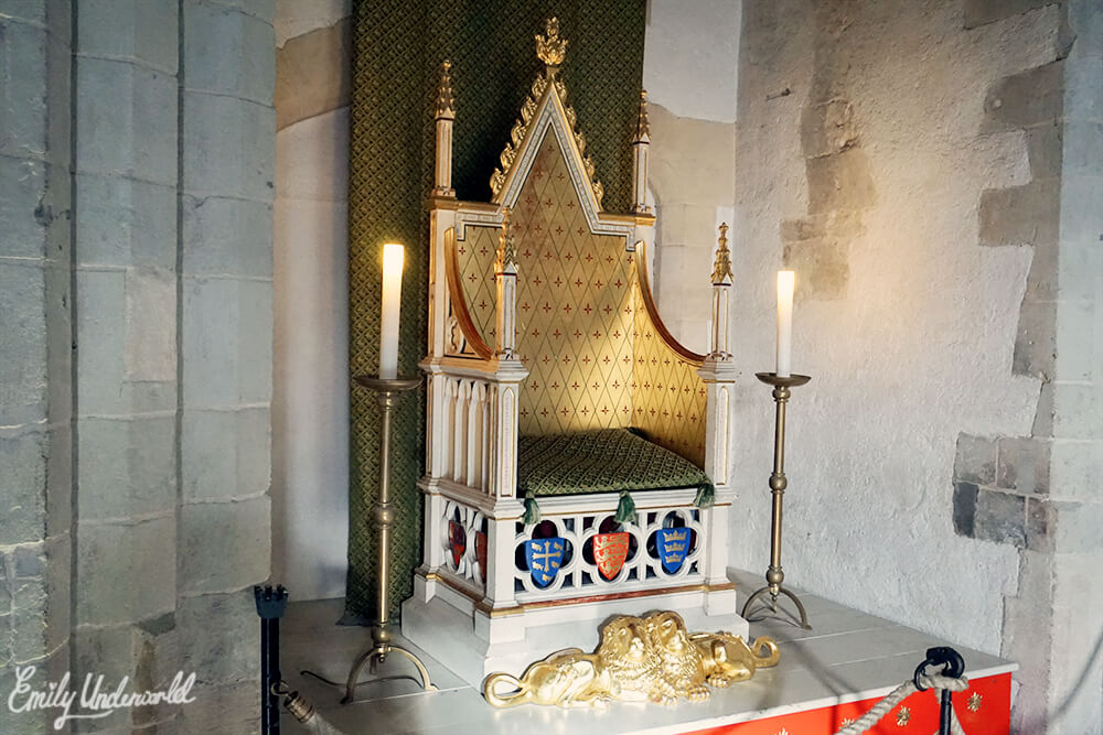 The Tower of London Throne