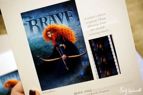 Disney Pixar Brave Film Strip