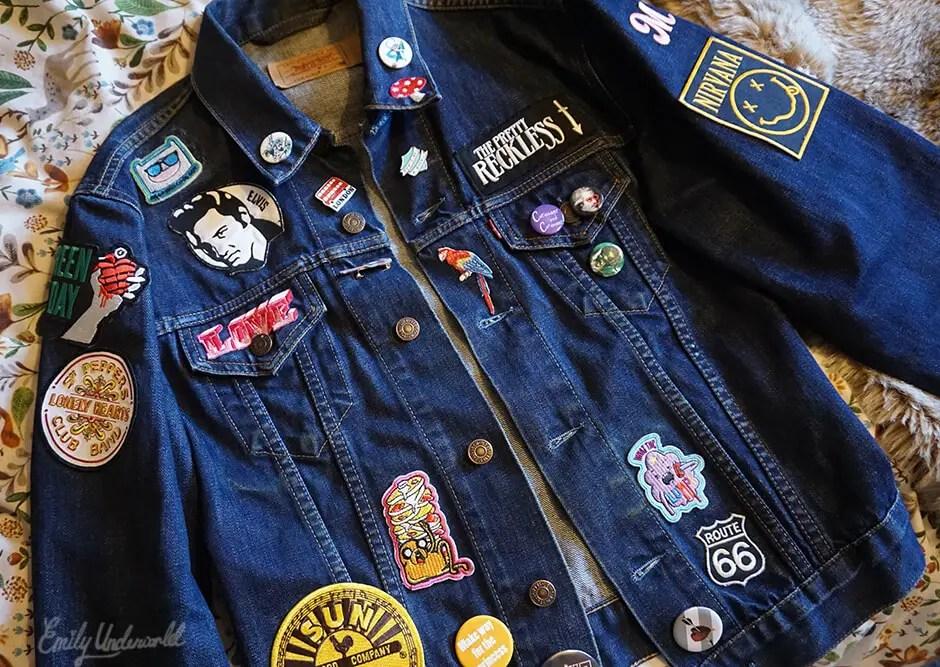 DIY Denim Jacket Patches
