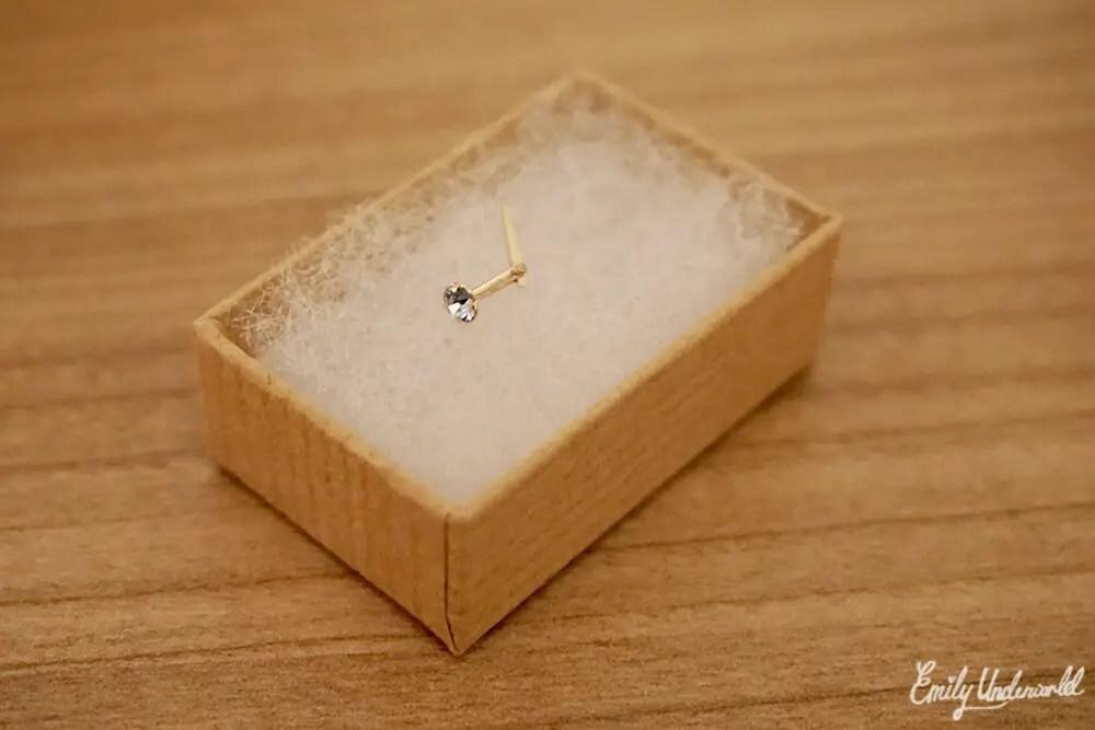 Jewellery Box Nose Stud