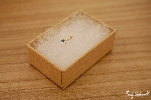 Jewellery Box Nose Stud