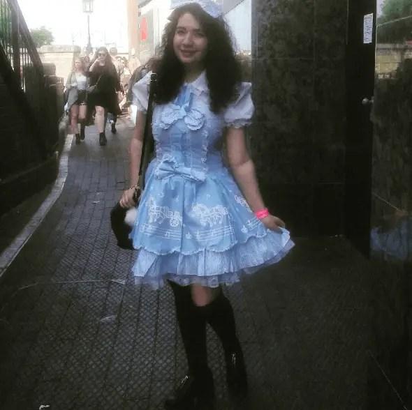 Melanie Martinez concert lolita outfit