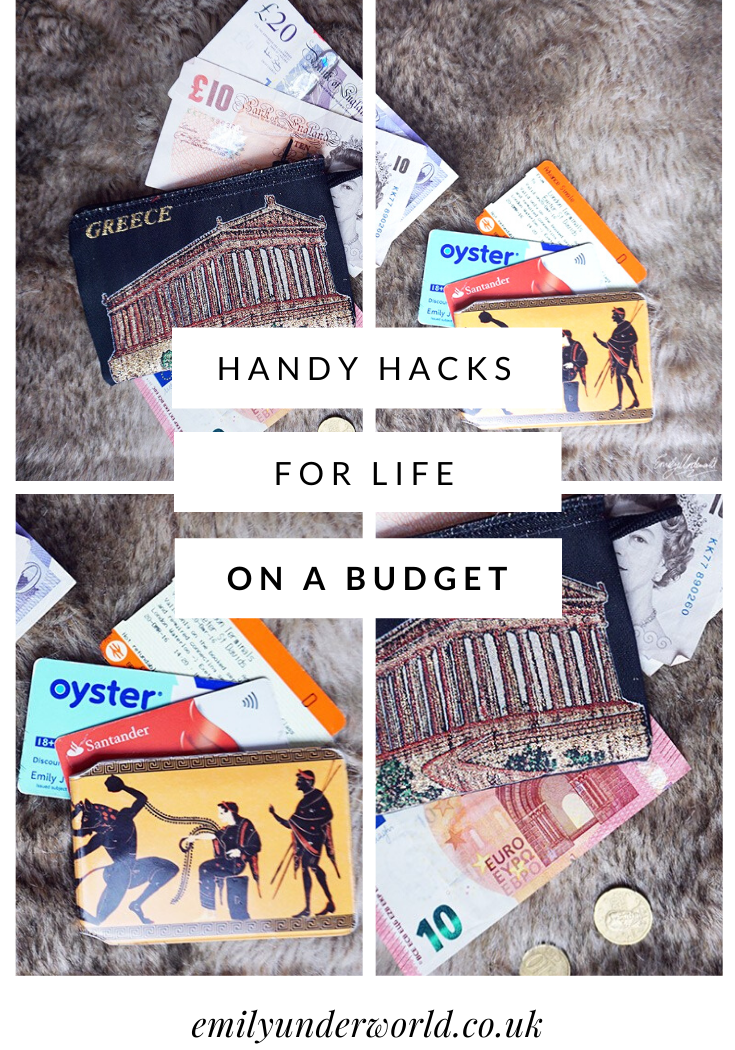 Hacks for Life on a Budget