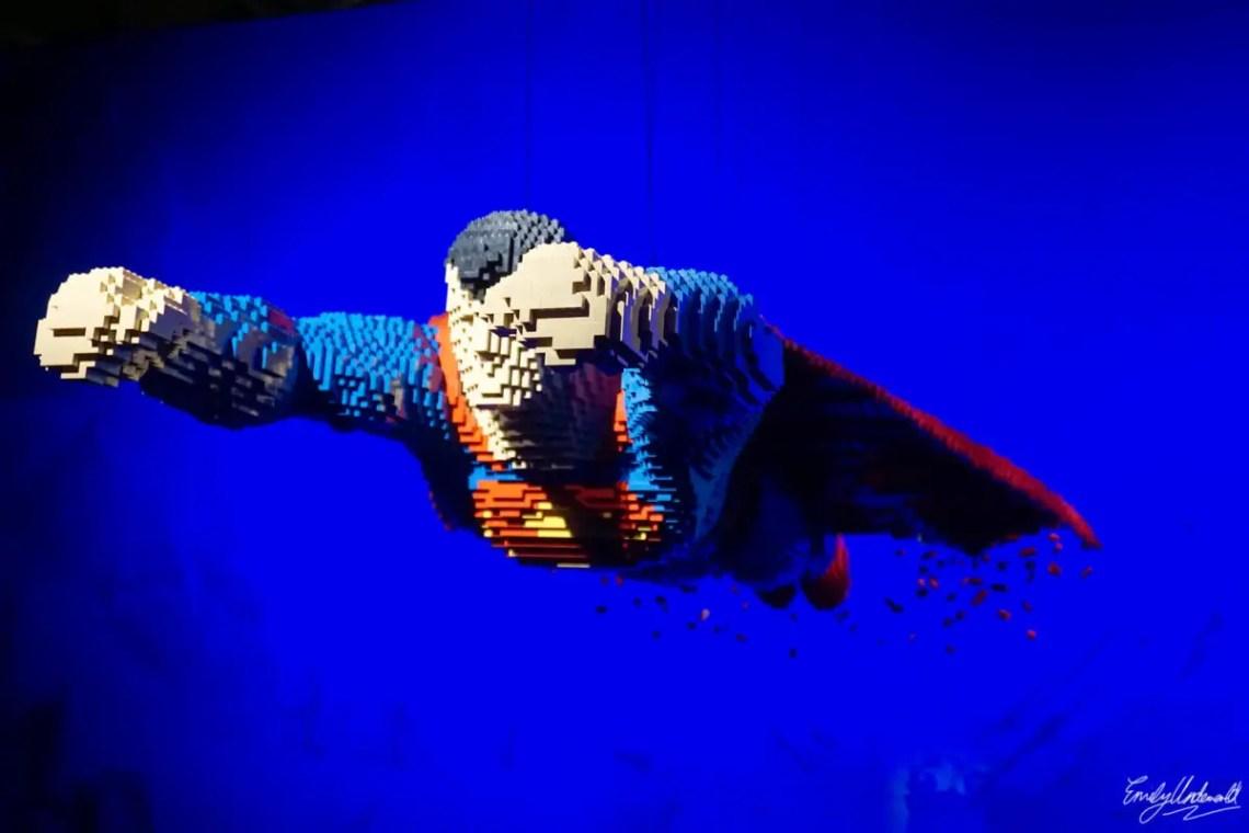superman flying