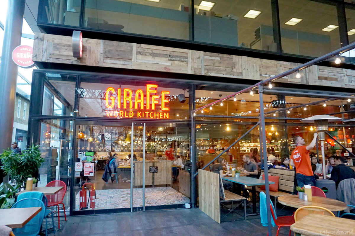 Giraffe World Kitchen, Spitalfields