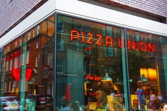 Pizza Union Aldgate Proper Italian Pizza In 3 Minutes