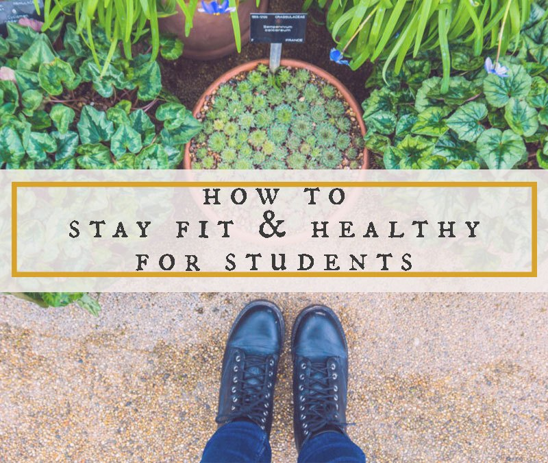 How To Stay Fit and Healthy For Students