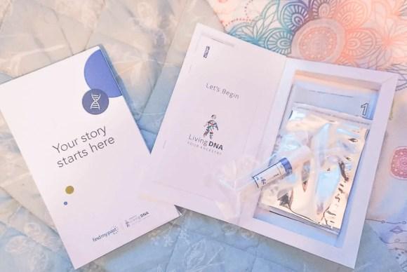 LivingDNA test kit