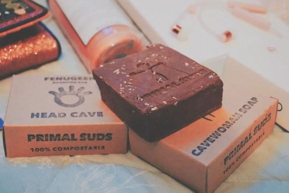 Primal Suds Head Cave Cavewoman Soap