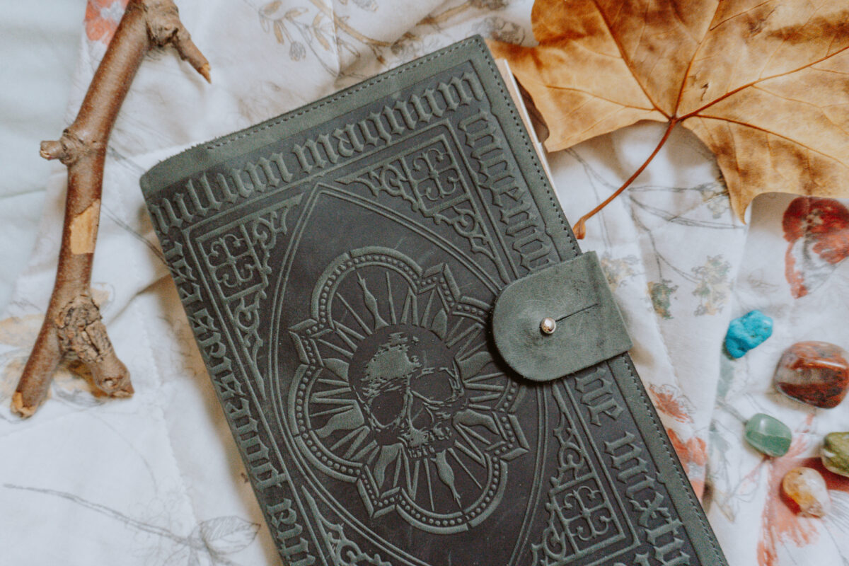 My Book of Shadows, or Grimoire.