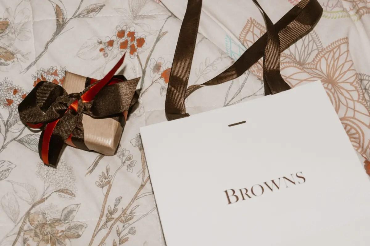 Browns Jewellers Packaging