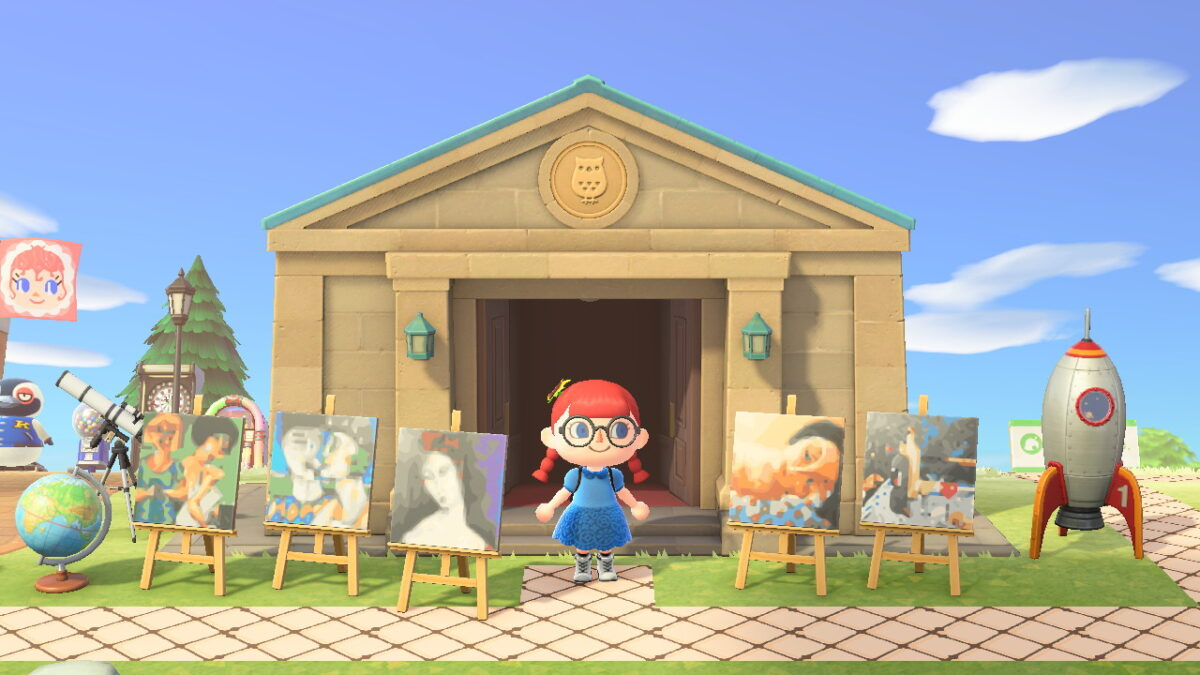 Animal Crossing New Horizons Museum Design