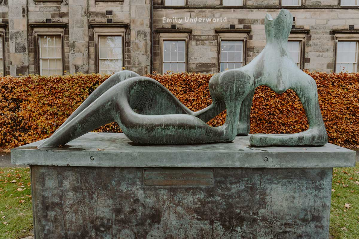 Henry Moore Sculpture Edinburgh. Virtual Museum Gallery Tours You Can Take At Home