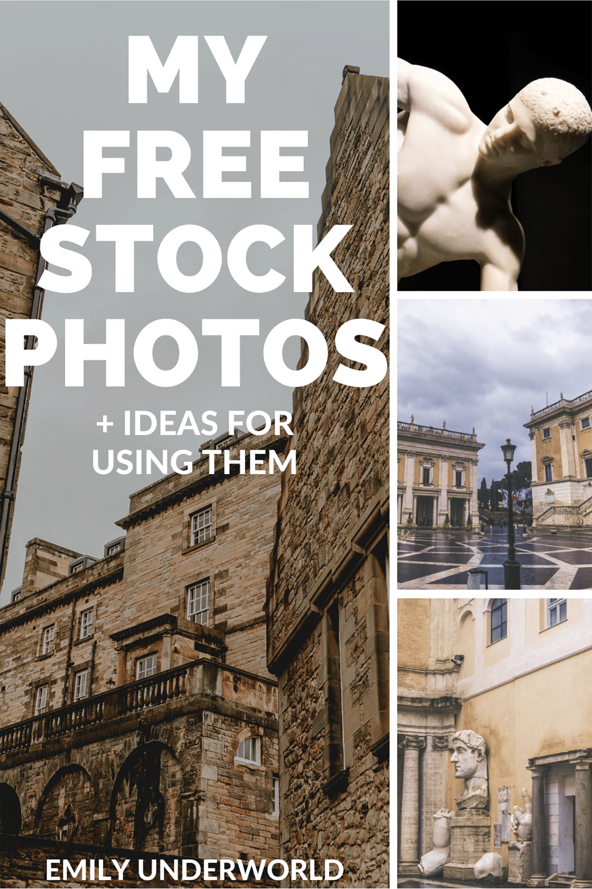 My Free Stock Photos + Ideas For Using Them