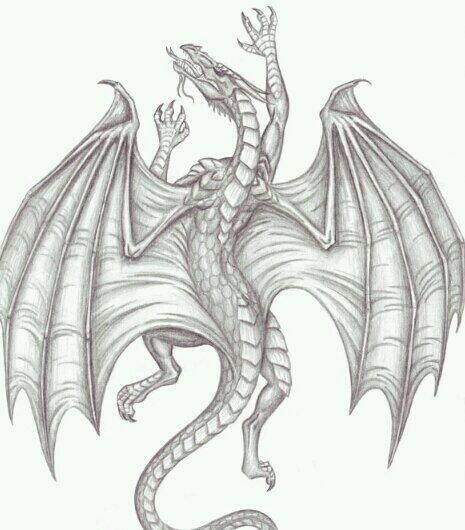 A climbing dragon