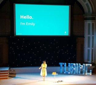 Emily Webber at Turing Festival