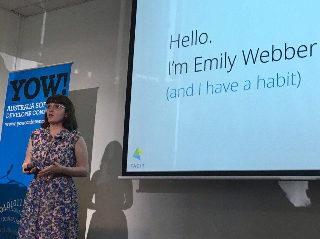 Emily Webber at YOW!