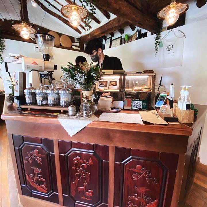 韓國漢城大學隱藏版韓屋咖啡-해로카페