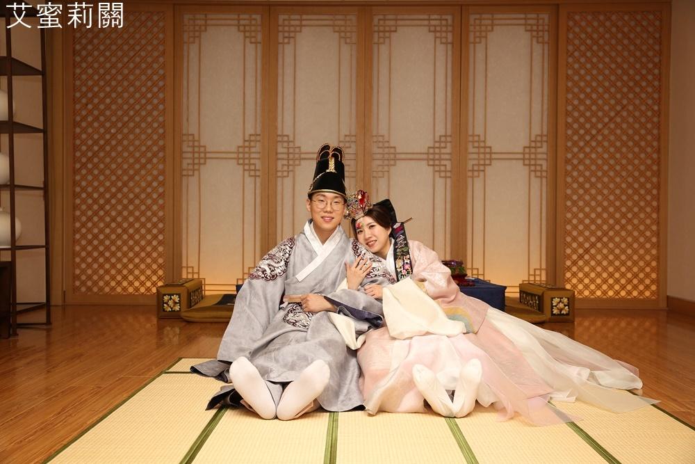 逗趣可愛的韓國傳統婚禮(幣帛式)~猜猜我們會生幾個孩子?誰能掌控家中大權! - 艾蜜莉關X吃貨の韓國日常