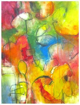 "acrylic, pencil on canvas | 46""h x 35""w | $2100"