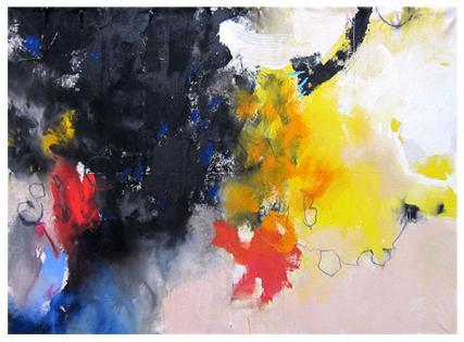 """acrylic on canvas   38"""" x 45""""   $2225"""