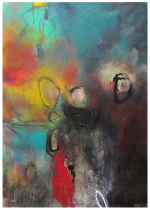 """acrylic on canvas   51.5"""" x 37""""   $2475"""