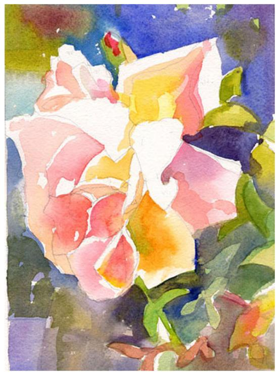 "watercolor on paper | 8"" x 6"" 